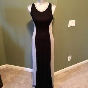Monteau Color Block Maxi Dress Like New!